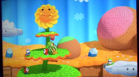 E3: Yoshi's Woolly World gameplay