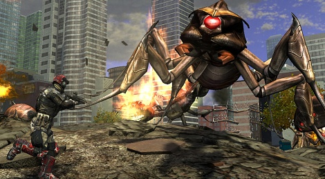 EDF Insect Armageddon : The Pesticide Gun