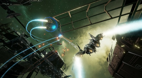 EVE: Valkyrie free with Oculus Rift