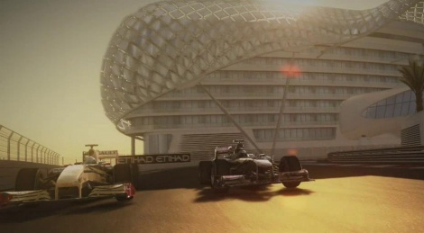 F1 2010 by night