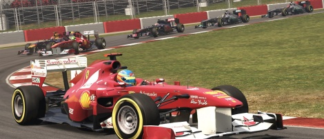 F1 2011: 8 New Screens