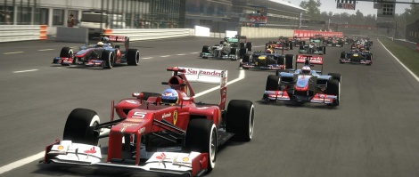 F1 2012 trailer and screens