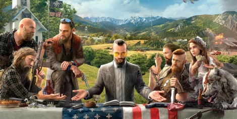 Far Cry 5 characters depicted