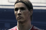 Fernando Torres on the cover of PES 2010
