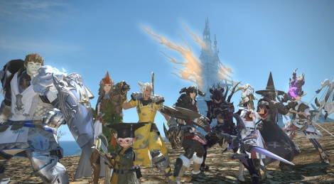 FFXIV PS4 trailer and images