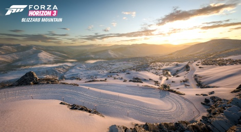 FH3 : Blizzard Mountain in PC videos