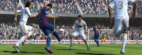 FIFA 12 First PS Vita Screenshots