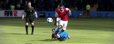 FIFA 12: Player impact engine