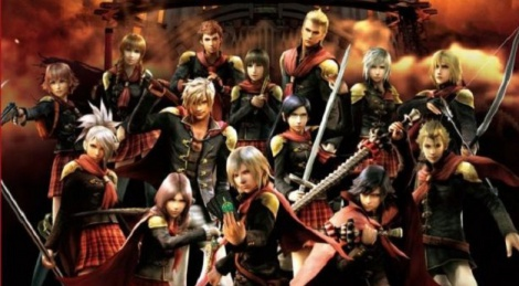 Final Fantasy Type-0 HD Characters