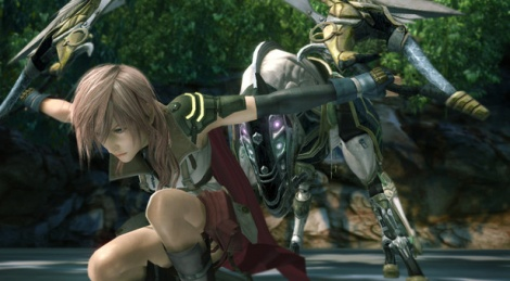 Final Fantasy XIII takes the pose