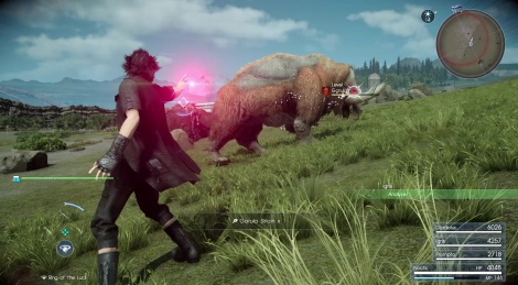 Final Fantasy XV: Death Spell Gameplay