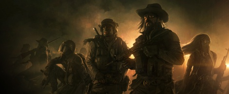 First concept art of Wasteland 2