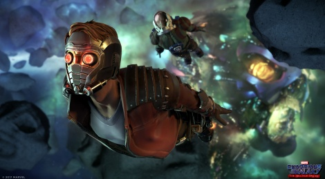 First images of Telltale's Guardians of the Galaxy
