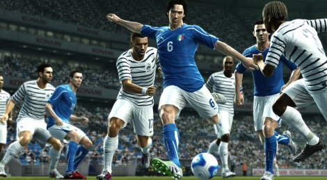 First Look at PES 2012