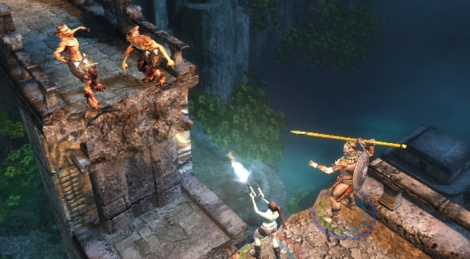 First screens for the new Lara Croft