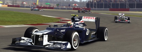 First screens of F1 2012