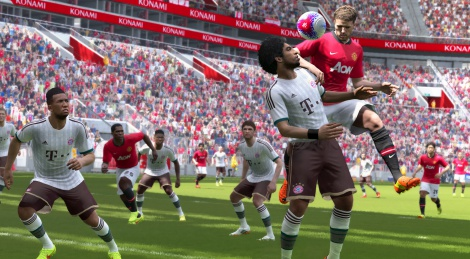 First screens of PES 2015