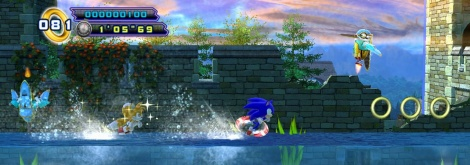 First screens of Sonic 4 Episode II
