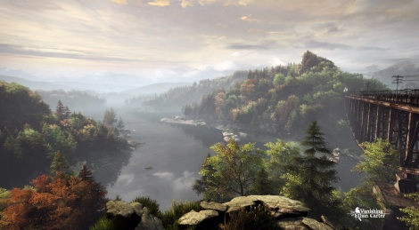 First screens of The Vanishing of Ethan Carter