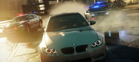 First screenshot of NFS Most Wanted