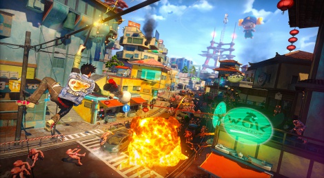 First screenshots of Sunset Overdrive