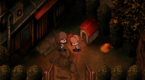 First steps in Yomawari: Night Alone