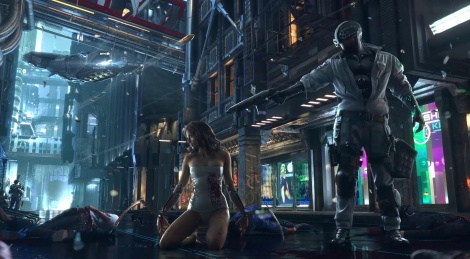 First trailer of Cyberpunk 2077