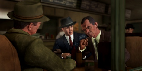 Five screens of L.A. Noire