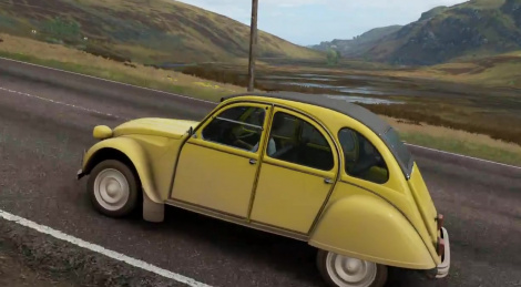 Forza Horizon 4 en replay PC