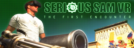 Frist Serious Sam gets VR treatment