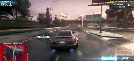 Gameplay de NFS Most Wanted