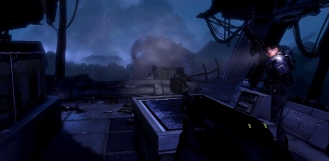 Gameplay of Aliens Colonial Marines