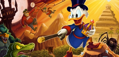 Gameplay of DuckTales Remastered