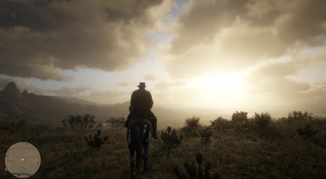 Gameplay of Red Dead Redemption 2