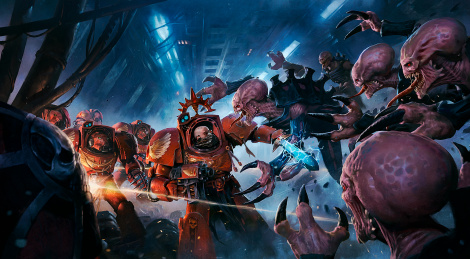 Gameplay of Space Hulk: Tactics