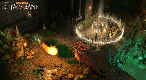 Gameplay of Warhammer: Chaosbane