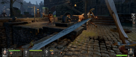 Gameplay of Warhammer: Vermintide