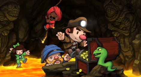 Gamersyde Review : Spelunky
