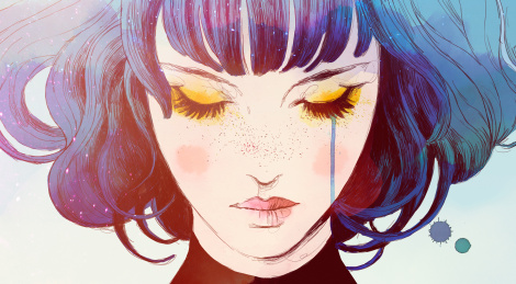 Gazing at beauty and sorrow with GRIS