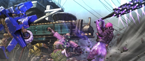 GC: Anarchy Reigns trailer and screens