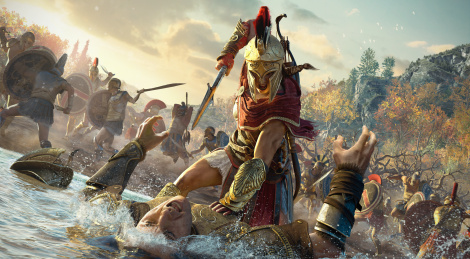 GC: Assassin's Creed Odyssey trailers, screens
