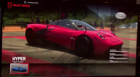 GC: DriveClub gameplay