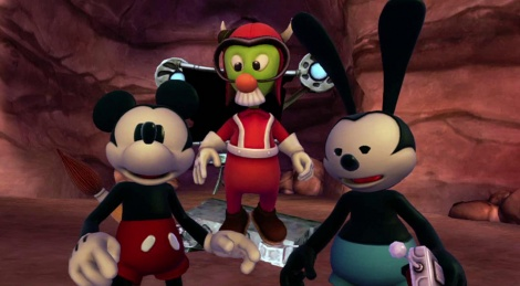 GC: Epic Mickey 2 screens & video