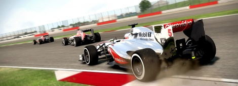GC: F1 2013 fills the gallery up