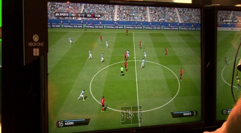 GC: Fifa 14 Xbox One gameplay