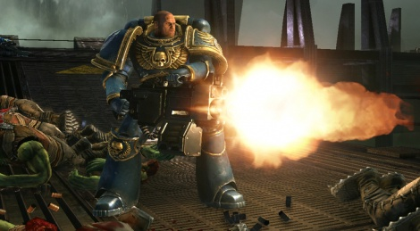 GC: First Look at Space Marine