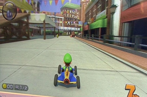 GC: Mario Kart gameplay