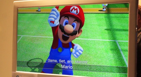 GC: Mario Tennis gameplay