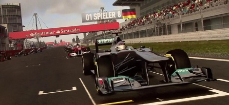 GC: More F1 2011 gameplay