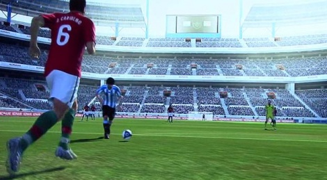GC: PES 2011 gameplay